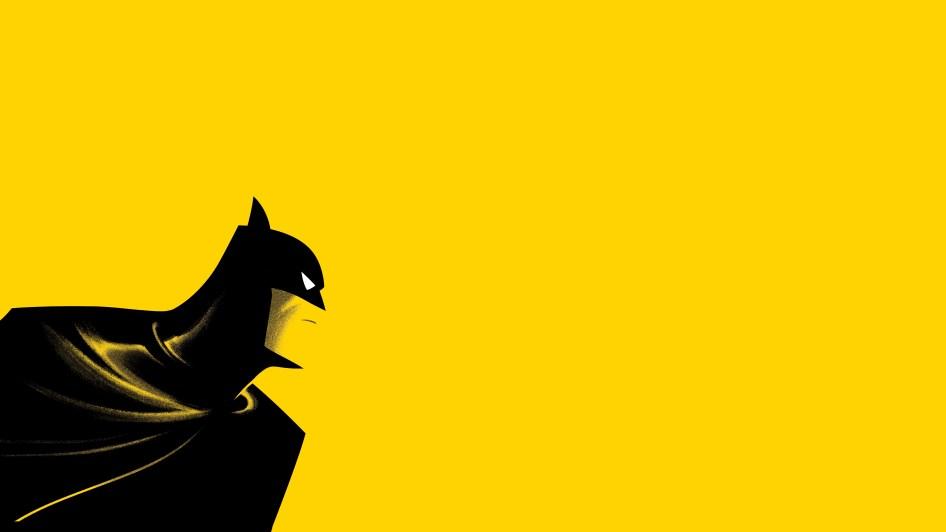 batman in the yellow