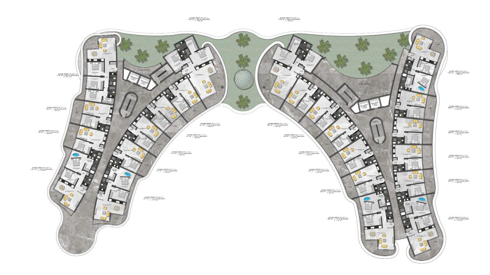 Plan of 2nd floor