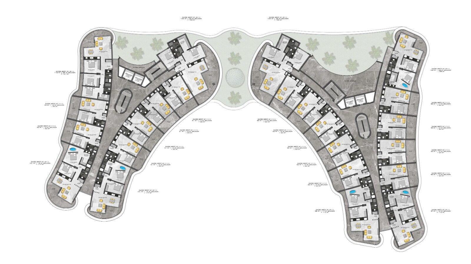 Plan of 3rd floor