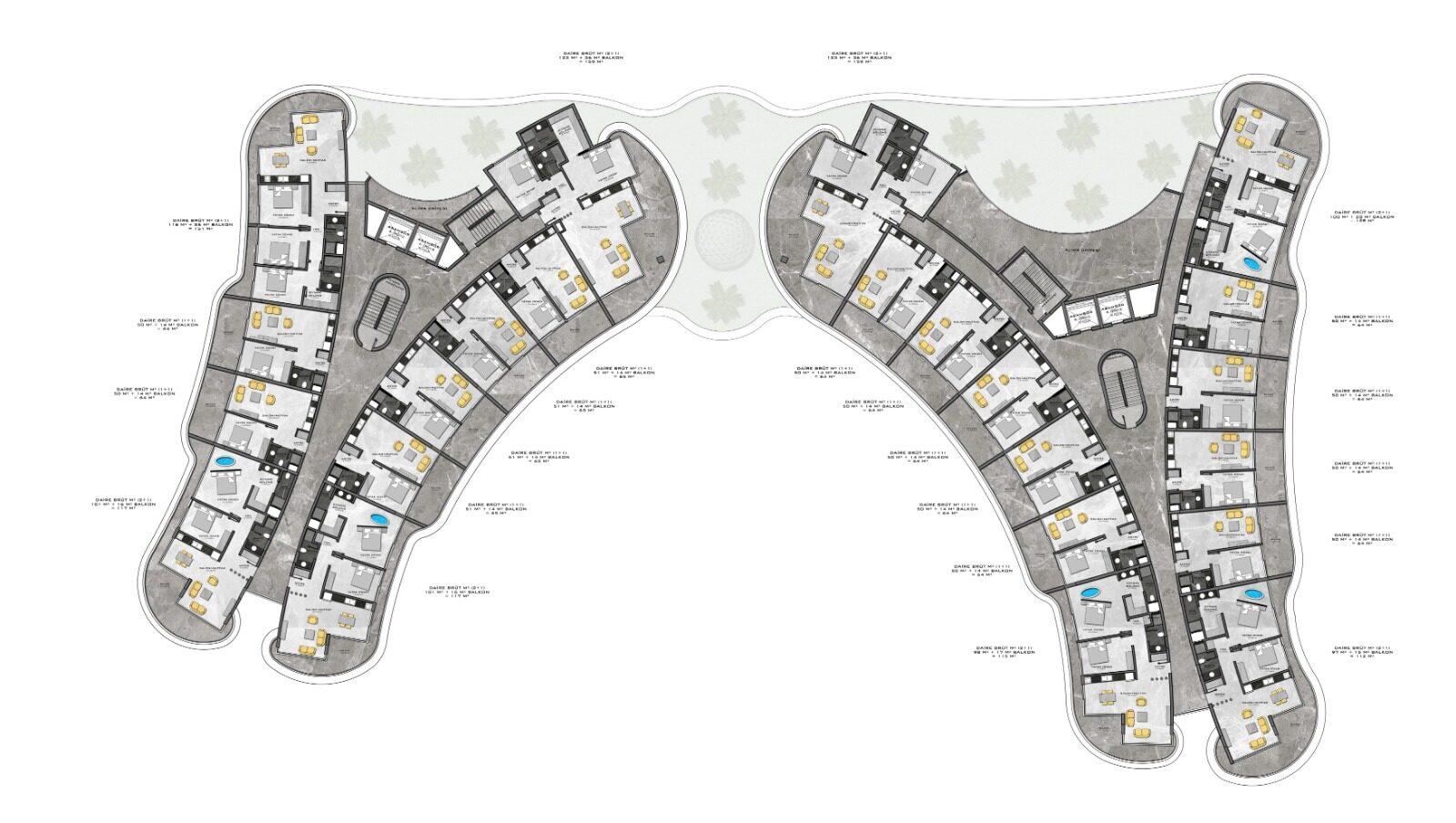 Plan of duplex 1st floor