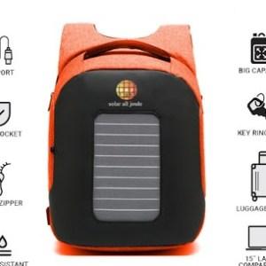 Un sac à dos photovoltaïque