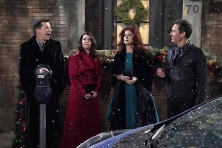 Buon Natale Will & Grace! Domani sera su Joi episodio speciale
