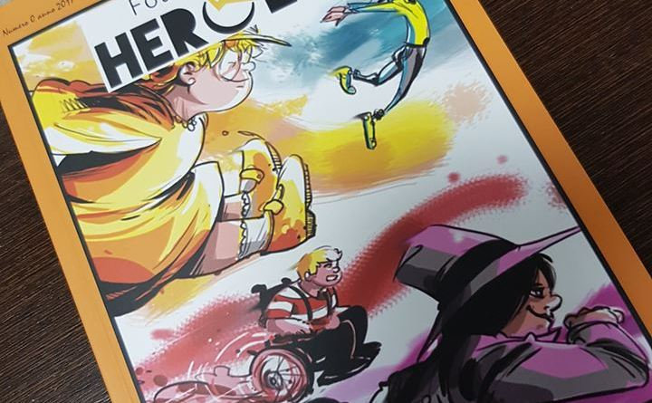 Four Energy Heroes, nasce il fumetto con supereroi disabili e normodotati