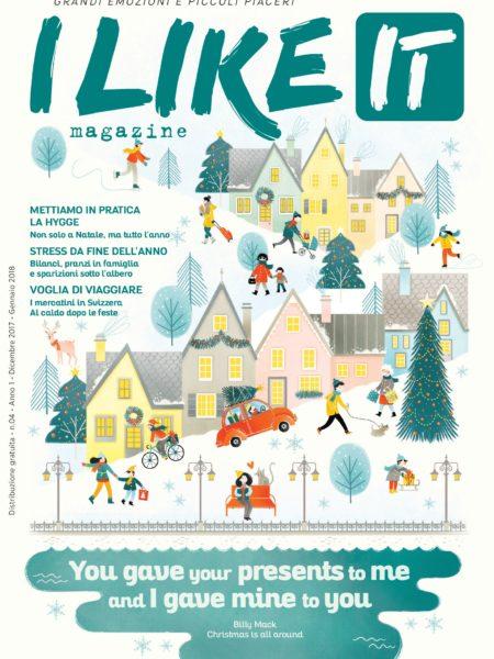 I like it magazine (cover dicembre 2017)