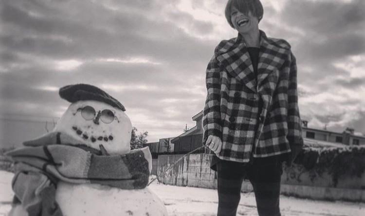 Italia sotto la neve: le foto più belle dei vip sui social