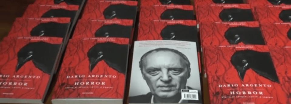 Horror, il nuovo libro di Dario Argento (INTERVISTA VIDEO)
