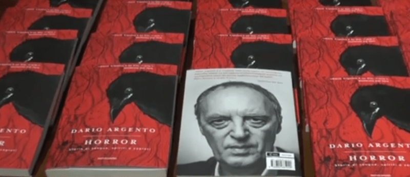 Horror, il nuovo libro di Dario Argento (INTERVISTA VIDEO)