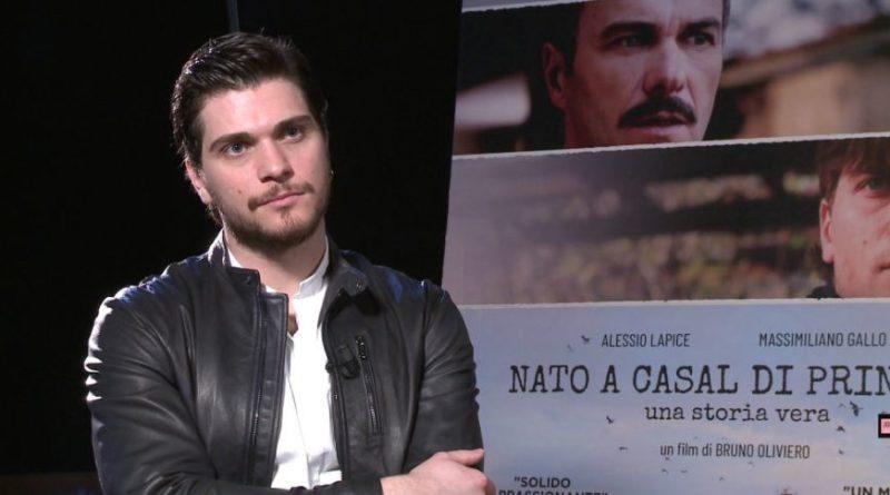 """Alessio Lapice: intervista al protagonista di """"Nato a Casal di Principe"""" (VIDEO)"""