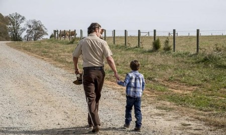 The Walking Dead finale rick carl