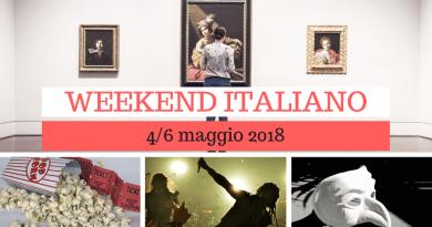 Weekend italiano: film, spettacoli, mostre e concerti (4/6 maggio)