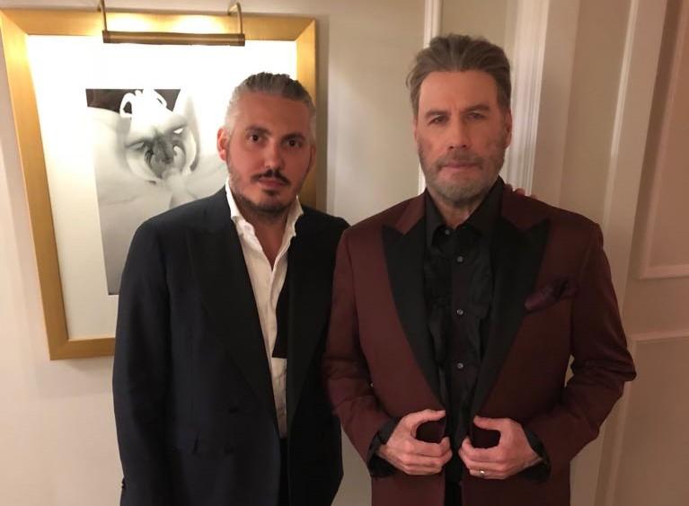 Matteo Perin, lo stilista italiano che ha conquistato John Travolta