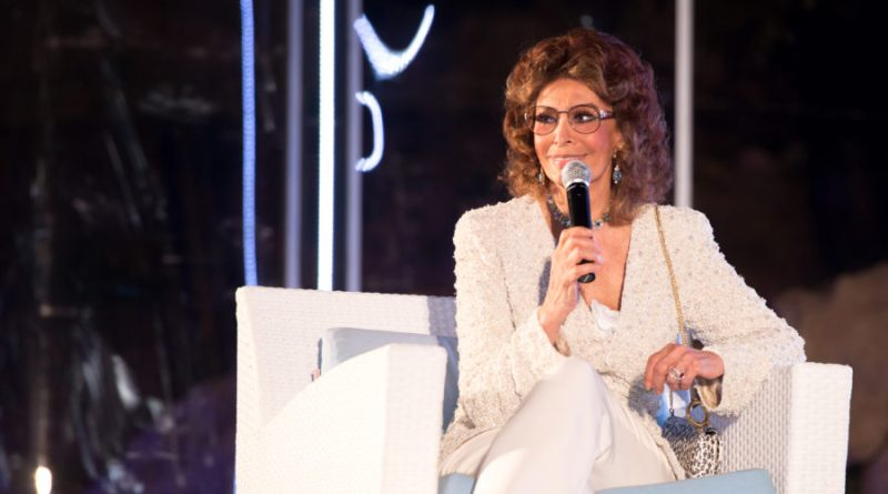 """Sophia Loren star de """"Le Giornate del Cinema Lucano"""". L'attrice chiude il Festival di Maratea"""
