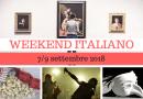 Weekend italiano: film, spettacoli, mostre e concerti (7/9 settembre 2018)