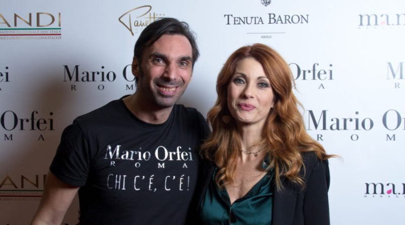 Mario Orfei presenta la collezione primavera/estate 2019. Tutte le star viste in prima fila