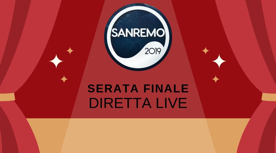Sanremo 2019, è tempo di finale. La diretta minuto per minuto - PAGELLE