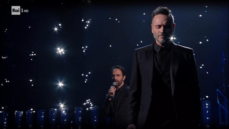 Sanremo 2019, duetto Nek – Neri Marcorè: pagella e testo