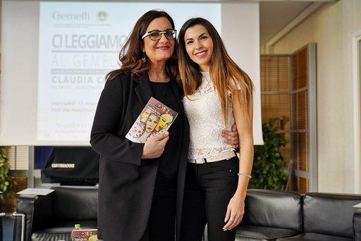 Ci leggiamo al Gemelli: Claudia Conte ospite all'iniziativa letteraria di Catena Fiorello