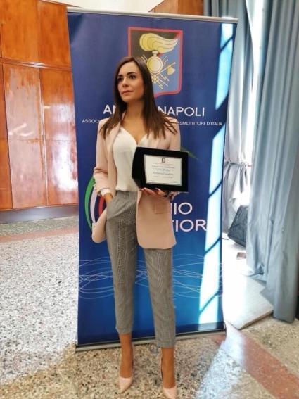Premio Mario Fiore Katiuscia cavaliere