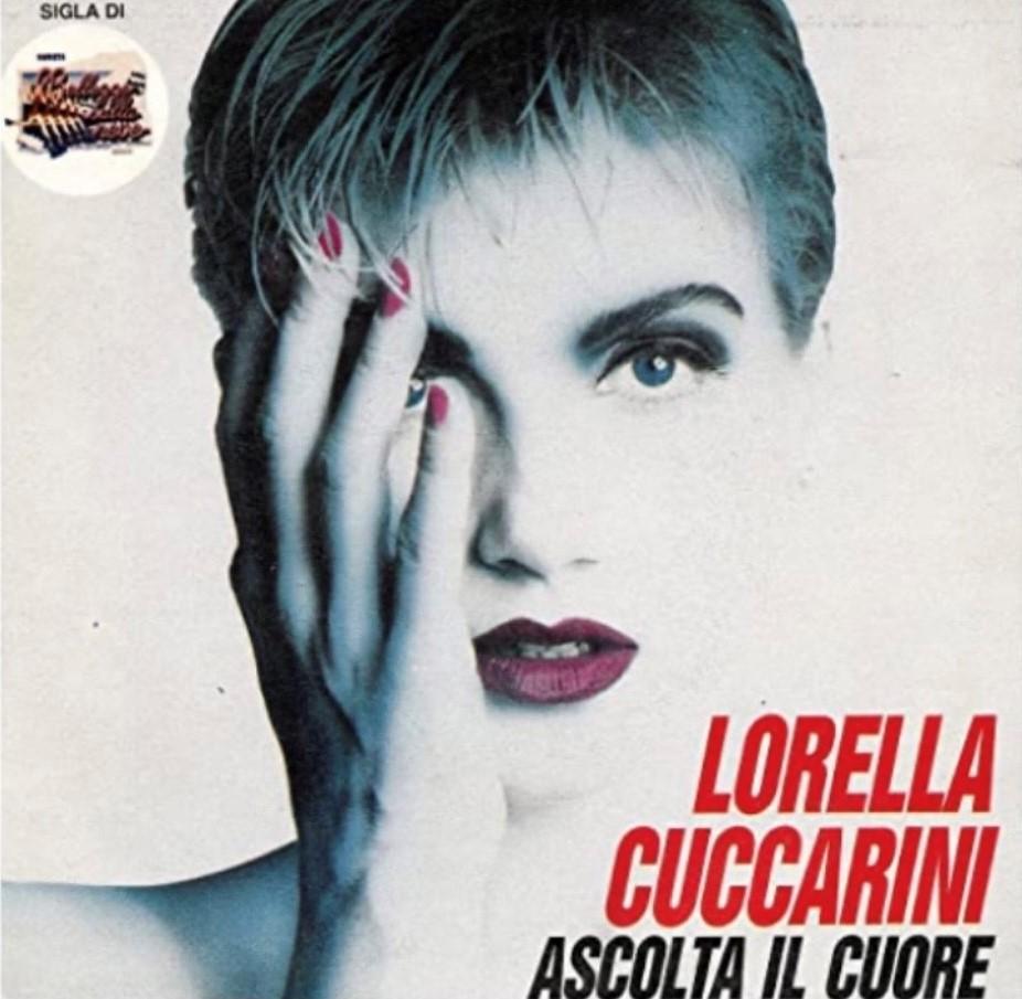 Ascolta il cuore Lorella Cuccarini