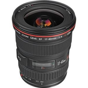 Canon Lens EF 17-40mm F4L USM 1