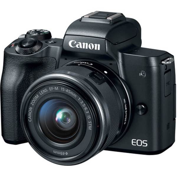 Canon EOS M50 Black + 15-45 mm IS STM 1