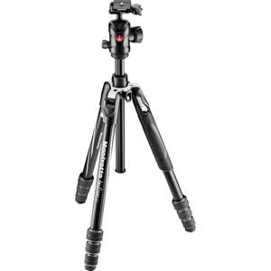 Manfrotto (MKBFRTA4GT-BH) Befree GT Aluminum Black with Ball Head 1