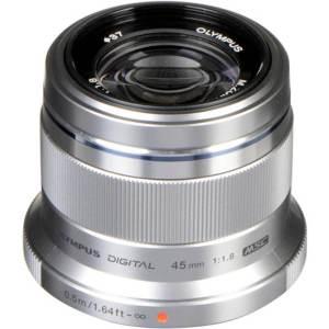 Olympus M.Zuiko 45mm F1.8 Silver 1