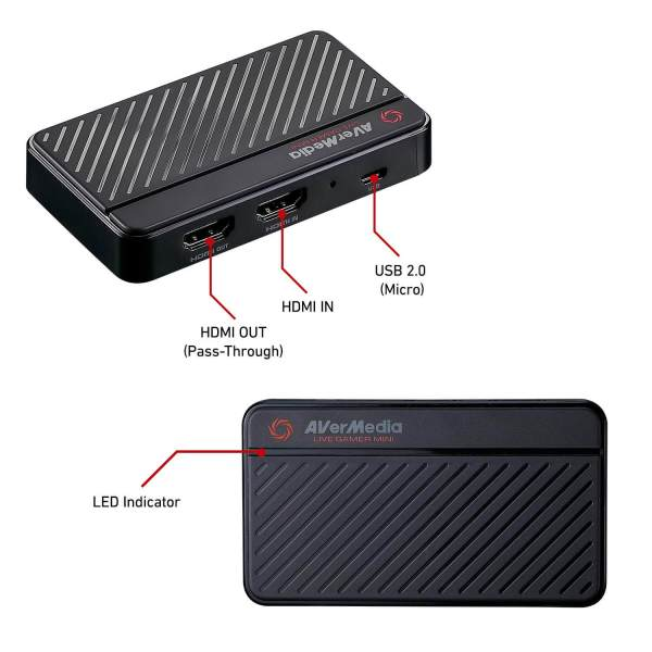 AVerMedia GC311 Live Gamer Mini Streaming Capture Box
