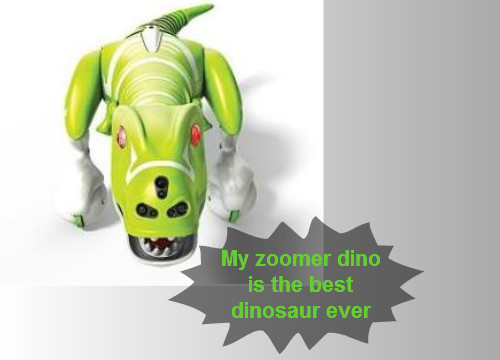 Zoomer Dino Review