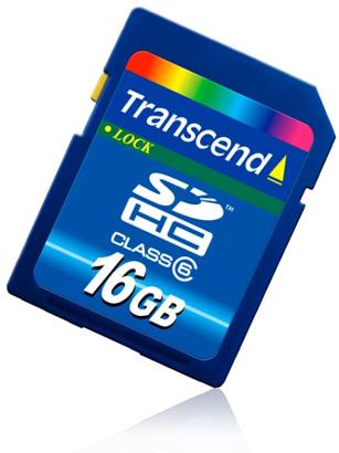Transcend: la nuova SDHC da 16Gb