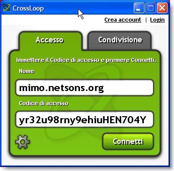 Desktop remoto con CrossLoop