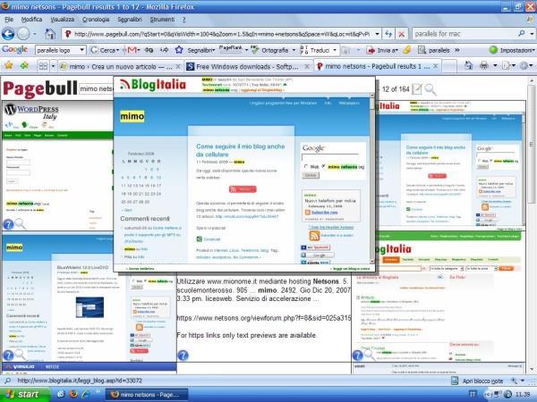 Pagebull: il motore di ricerca visuale