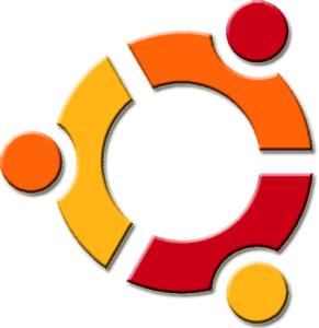 ubuntu logo prima versione
