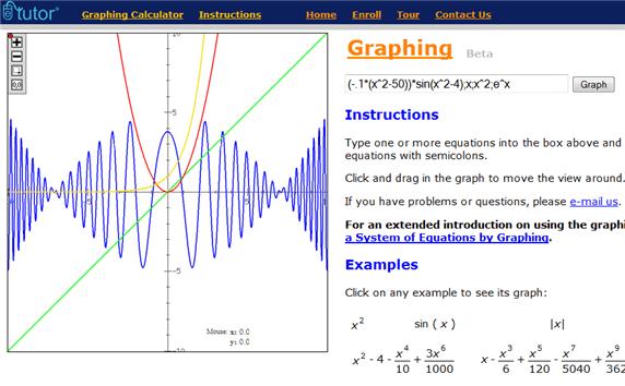 Calcolatrice grafica online
