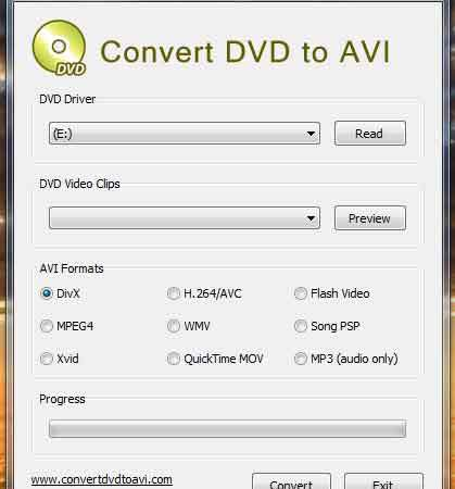 Convertire DVD in AVI e da DVD a DivX