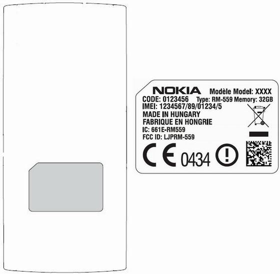 Nokia Alvin RM-559