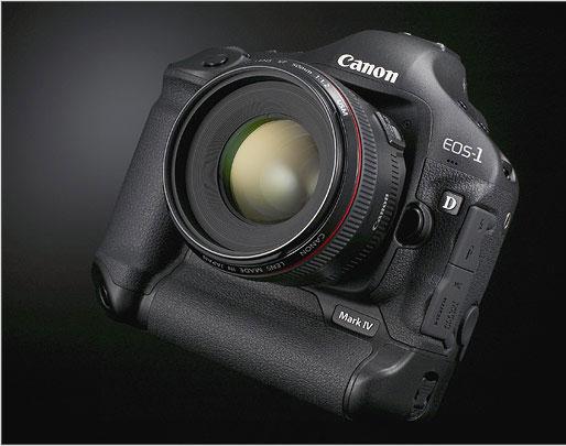 Canon EOS 1D Mark IV annunciata oggi