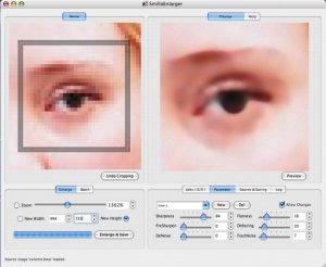 SmillaEnlarger-prova-ingrandimento occhio