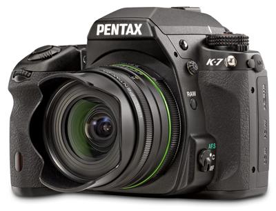 Pentax rilascia un nuovo firmware per la sua reflex k-7