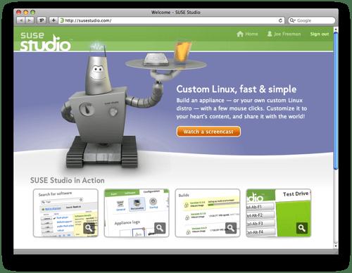 Suse Studio: Linux fai da te