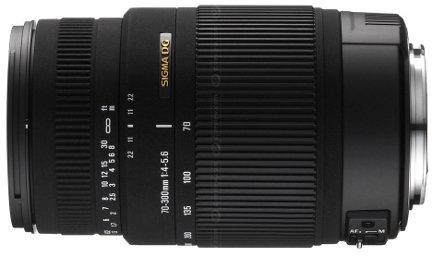 Sigma 70-300mm F4-5.6 DG OS supertele stabilizzato per Sony & Pentax