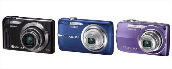 Quattro nuove Fotocamere Compatte da Casio
