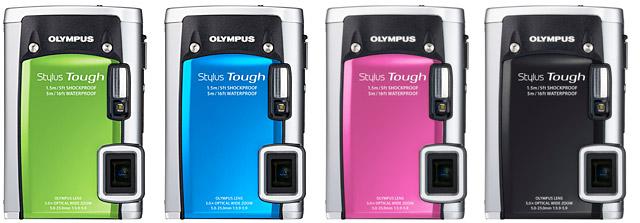 """Olympus rilascia le nuove compatte """"da battaglia"""" Tough 8010 e 6020"""