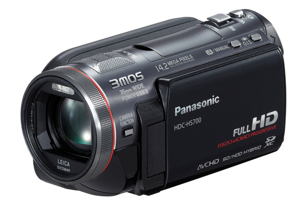 Nuove videocamere HD: Panasonic HS700 e TM700