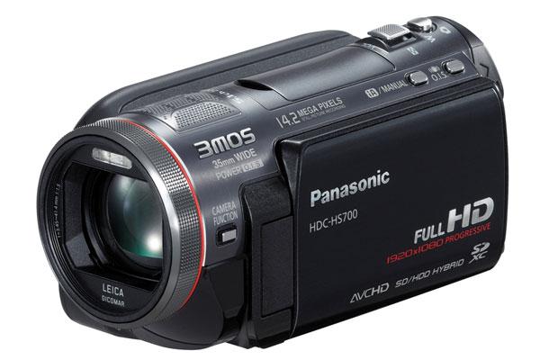 Nuove videocamere HD: Panasonic HS700 e TM700