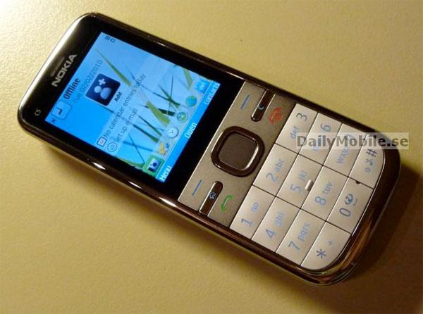 Nokia C5: il Symbian di fascia bassa