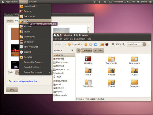 dark theme ubuntu