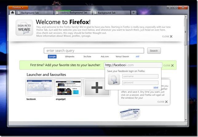 Ecco Firefox 4. Grazie a Yatrik Solanki