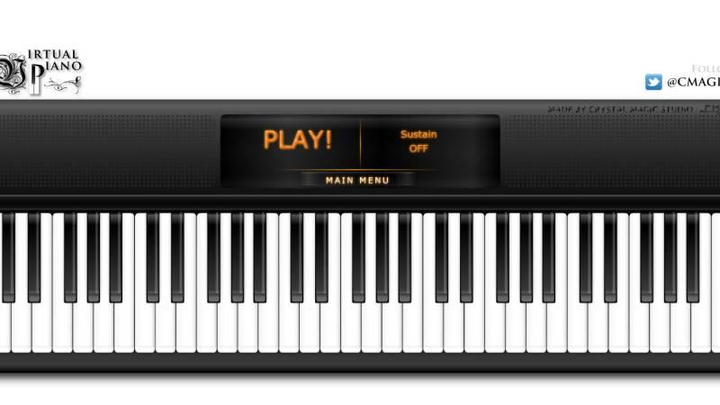 Per i pianisti virtuali che sono in voi: VirtualPiano