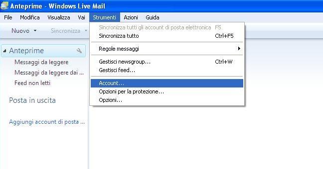 Come Configurare Windows Live Mail per Libero